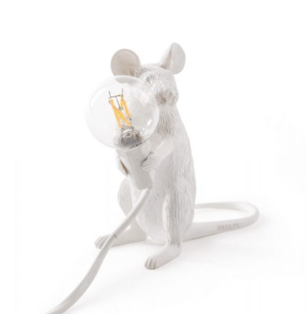 Mouse Lamp 2 - Lampe Souris Assise